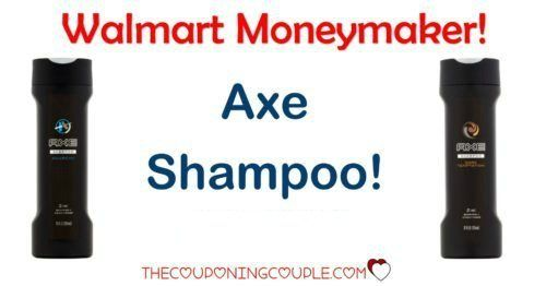 WOOHOO! A MONEYMAKER on Axe Shampoo! Don't miss out on this hot deal at Walmart! Ends 5/31!  Click the link below to get all of the details ► http://www.thecouponingcouple.com/axe-shampoo/ #Coupons #Couponing #CouponCommunity  Visit us at http://www.thecouponingcouple.com for more great posts!
