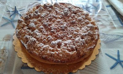 la cucina di nonna papera : crostata di mele croccante
