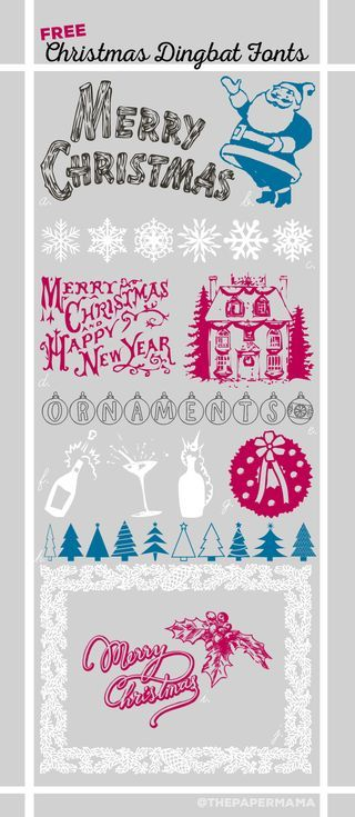 17 Best images about fonts on Pinterest | Fonts, Paper and Holiday ...