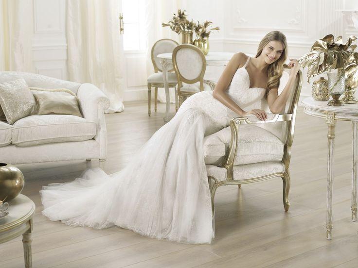 Lary - Pronovias 2014 - Esküvői ruhák - Ananász Szalon - esküvői, menyasszonyi és alkalmi ruhaszalon Budapesten