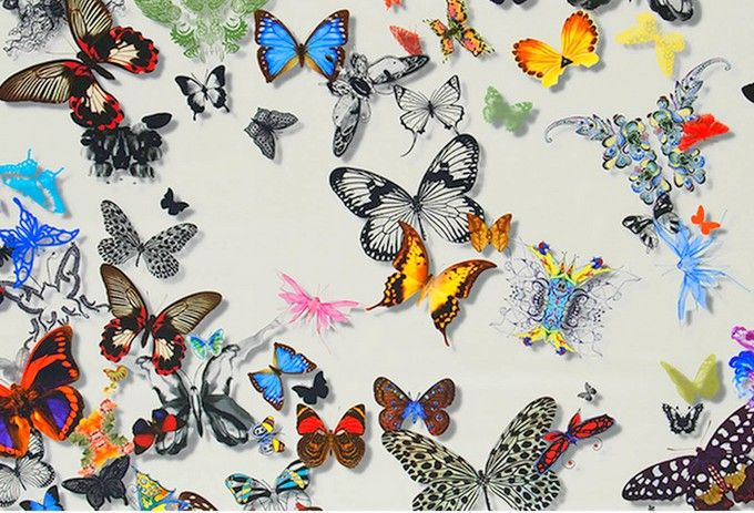 17 best images about christian lacroix on pinterest butterfly wallpaper fa - Tissus christian lacroix ...