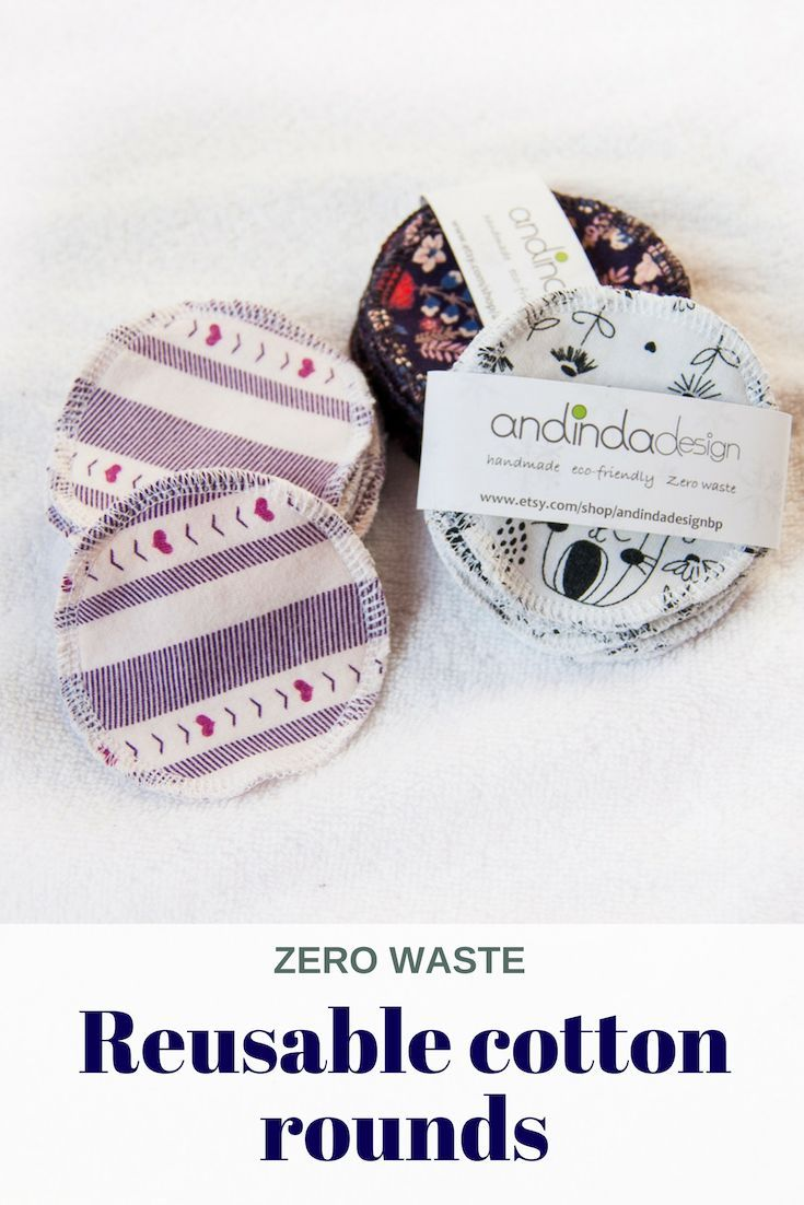 Galentines gift ideas for dog lovers – 10 Washable reusable cotton rounds with wash bag option – winter birthday gift – Zero waste – andindadesign – zero waste