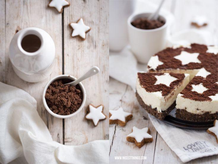 Zimtstern-Cheesecake