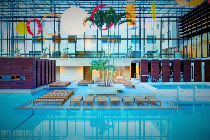 Therme Meran und 3 Tage im Hotel Gurschler #Meran #Travador #Italien #therme #pool #spa #relax #wellnessreise #beautiful #beauty #entspannung #travel #wasser #sauna #travadorlove