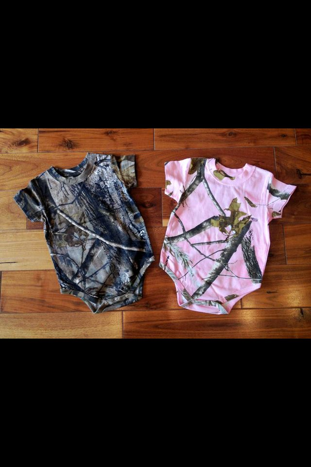 Camouflage baby clothes Baby Redneck