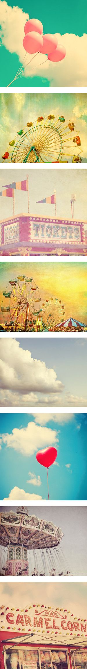 vintage carnival pictures. Having fun at the State Fairs and carnivals. B.