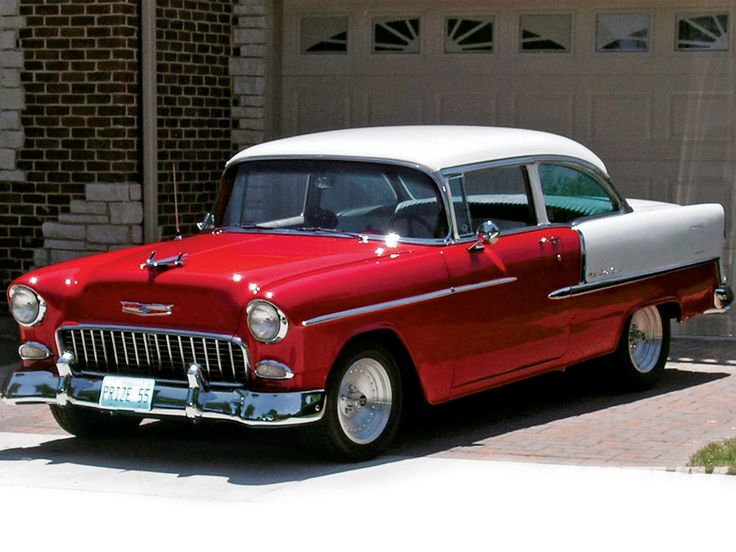 @Marilyn McNalley ~1955 Chevrolet BelAir ~ Remember Dad's was just like this except the color was green and white.  Loved that car.  He kept it just as shiny, too.