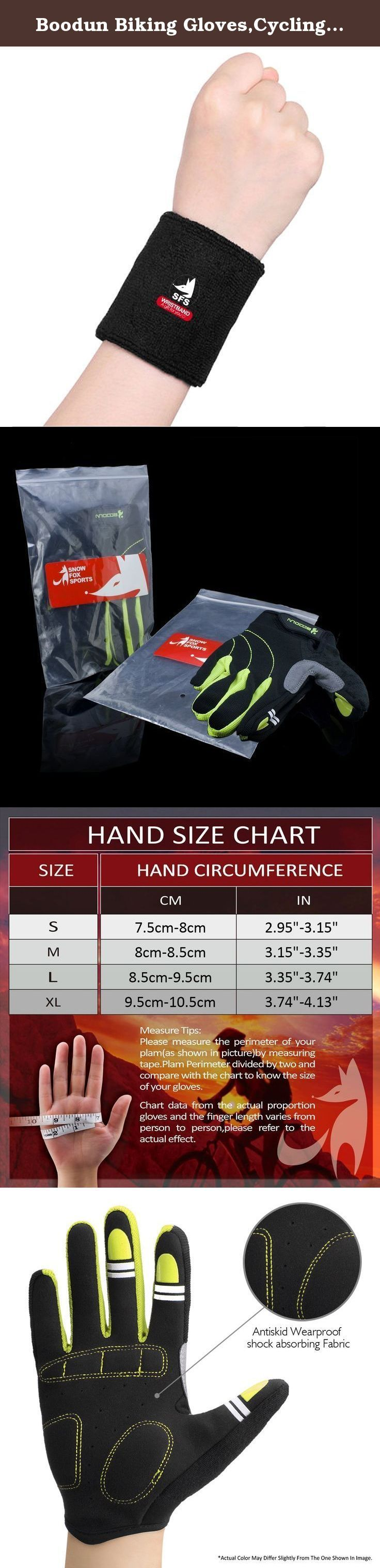 Boodun Biking Gloves,Cycling Gloves Wearproof Full Finger Antiskid Mountain Bike Gloves Road Racing Bicycle Gloves Riding Gloves. Biking Gloves Antiskid Cycling Mountain Bike Gloves Riding Training Running Work Gloves Product Warranty: Our gloves will be all shipped directly from Amazon's Warehouse sold by Snow Fox Sports Direct, which can ensure that you could receive the parcel safely and quickly. We promise a 30-Day Money Back Product Quality Guarantee (caused by non-artificial...
