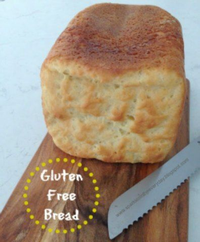 Gluten Free Bread made in a bread machine!!...delicious and easy to make!