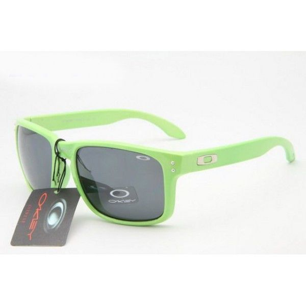 cheap fake oakley holbrook sunglasses  $12.99 fake oakley holbrook sunglasses green frame black lens online deals racal