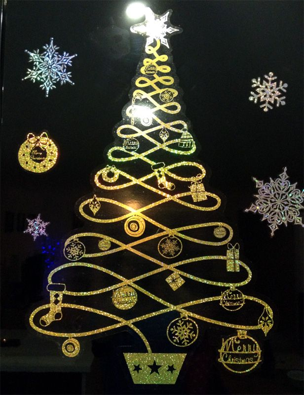 39 best Wall Christmas trees images on Pinterest | Xmas trees ...