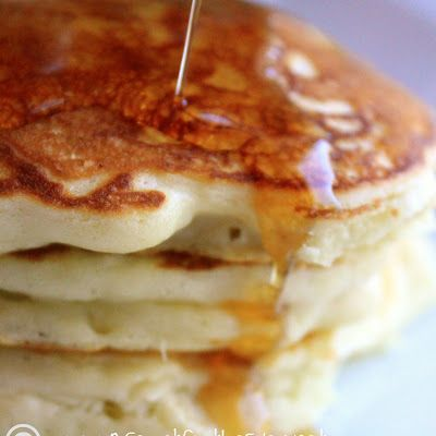 Buttermilk Pancakes for Two @keyingredient #breakfast #meals