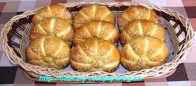 Sezamové houstičky | Babčiny recepty