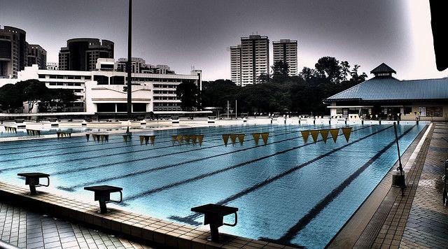 Olympic size Pool - Singapore; look at the size of that kids pool! #kiddiepoolrealness# kiddie pools; kids pools