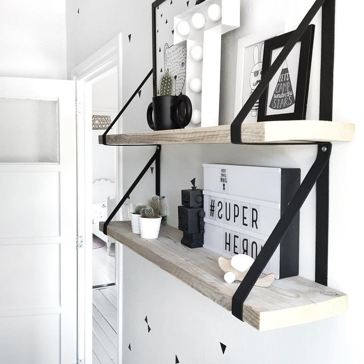 25 beste idee n over muur planken op pinterest planken for Plank boven bed