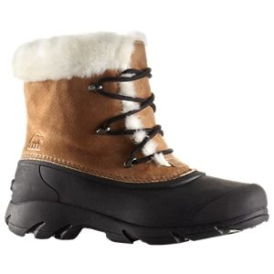 Sorel Snow Angel Lace-Up Insulated Waterproof Pac Boots for Ladies - Rootbeer - 11 M