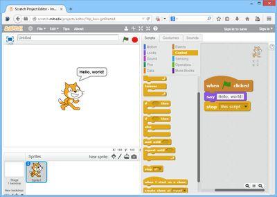 Visual programming language - Wikipedia, the free encyclopedia