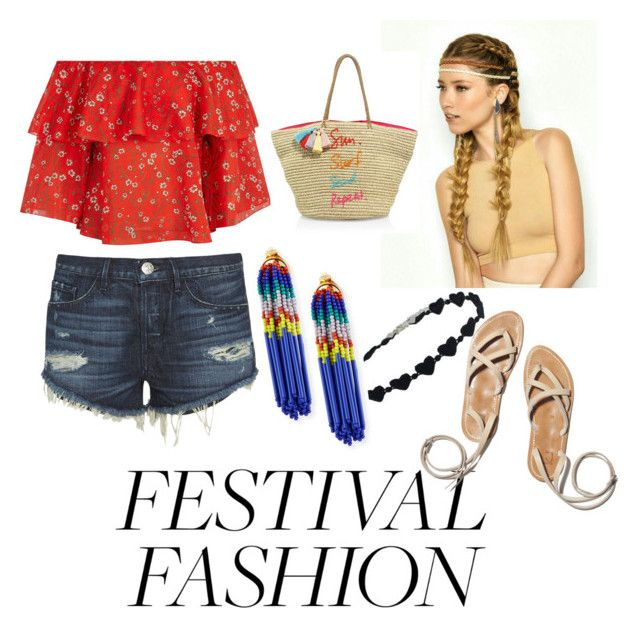 """""""Festival time"""" by kristell-mayorga on Polyvore featuring Alice + Olivia, 3x1, Rebecca Minkoff and Lele Sadoughi"""