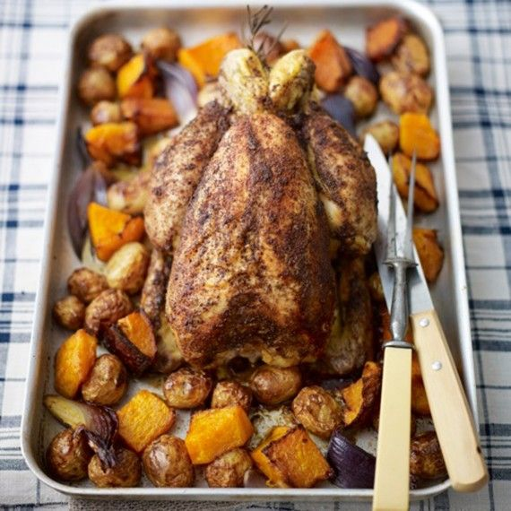 Middle Eastern Roast Chicken with Sumac, Lemon and Rosemary - Woman And Home
