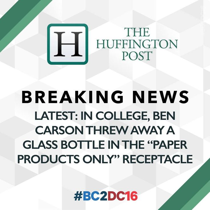 Ben Carson Knocks Media With Series of 'Breaking News' Graphics Posted to Facebook