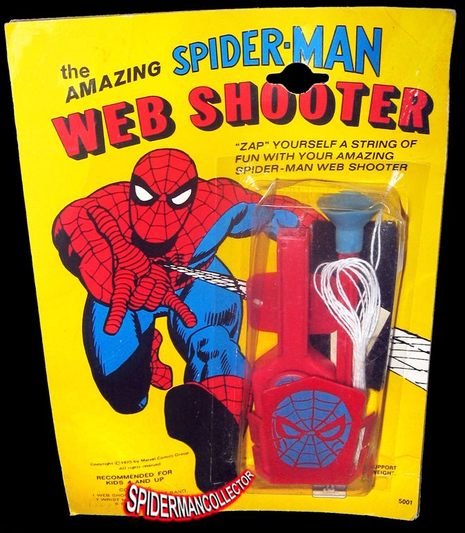 how to make a spiderman web shooter with pen