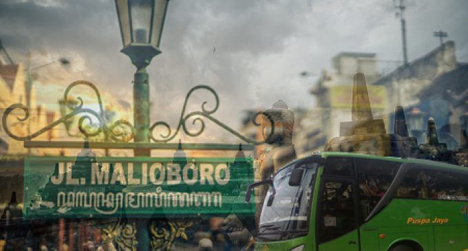 Masuk Kota Yogyakarta Dan Sekitarnya, Bus Pariwisata Di Batasi Ruang Geraknya