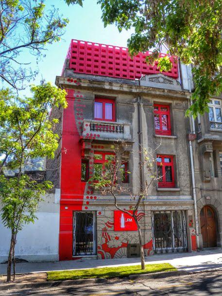 Santiago, Chile. A very nice Art Gallery renovated building in Bella Vista