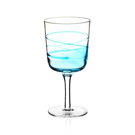 Bernardo Mavi Kadeh #drinking #glass #wine #blue #tabledesign