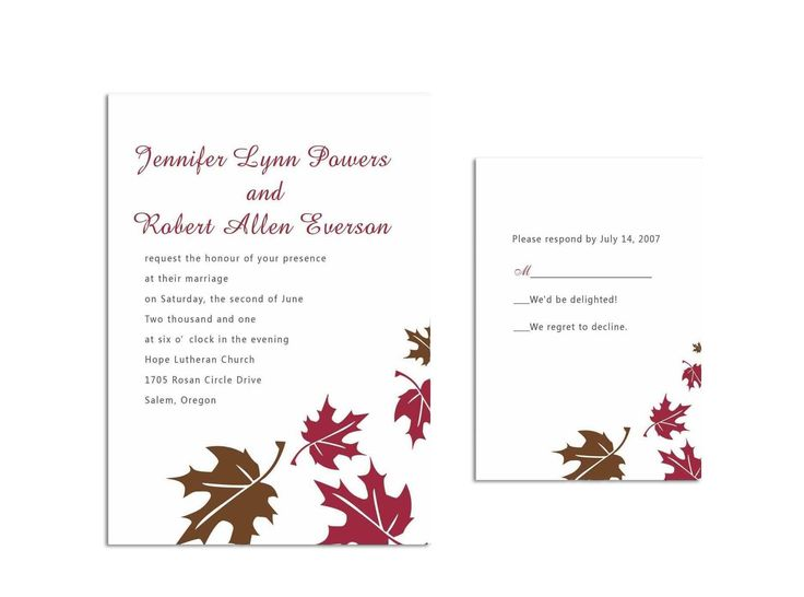 53 best Simple Wedding Invites images – Cheap Invitation Card