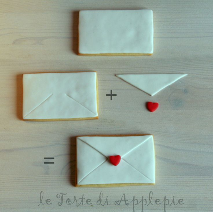 step by step envelope~ Sweet simple