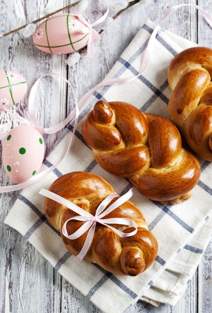 Treccine di pan brioche