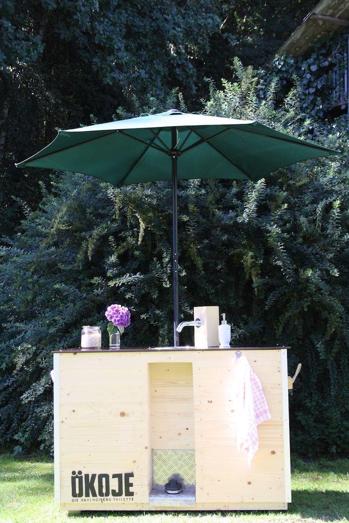 das handwaschbecken funktioniert ohne wasseranschluss und strom holzdesign waschbecken koje sonnenschirm - Dusche Garten Ohne Wasseranschluss