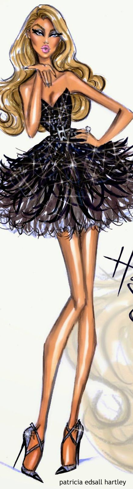 Red Carpet Glam 'Kiss Kiss' by Hayden Williams