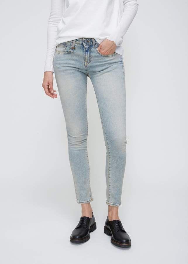 R13 Alison Skinny. Cure skinny jeans. affiliate #skinnyjeans #denimjeans #casualoutfits