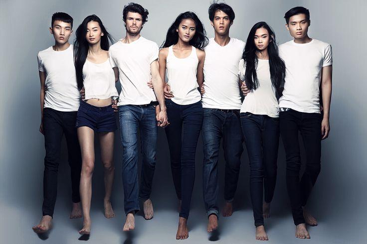 Redsagency for Model Search by Fashion Momentum Surabaya // make up Mila Wijaya // photographer Sharon Angelia