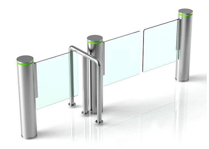 Automatic Pedestrian Security Swing Turnstile Gate, Swing Barrier Gate Manufacturer