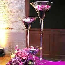 Best 25 Martini Glass Centerpiece Ideas On Pinterest Pearl Centerpiece 1920s Wedding Themes
