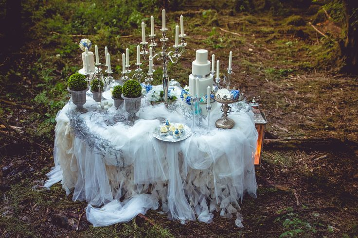 Fairy garden desserttable project | www.marangona.hu Wedding clothes by Agota Nagy