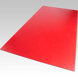 Palight Projectpvc Red Foam Pvc Sheet (Common: 24-In X 24-In; Actual:
