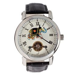 Henri Lapointe automatic limited edition watch having a ...