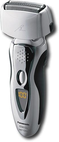 "(CLICK IMAGE TWICE FOR DETAILS AND PRICING) Panasonic ES8103S Pro Curve Electric Shaver. ""Panasonic ES8103S Brand New Includes Two Year Warranty, The Panasonic ES8103S pro-curve, wet_dry, pivot action shaving system has a triple-head design, which offers comfort, support, and great performance. There are 2 .... See More Panasonic Shavers at http://www.ourgreatshop.com/Panasonic-Shavers-C382.aspx"
