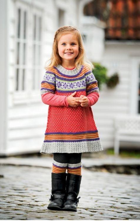 Tunika #knittingroom #stickat #garn #sandnessgarn #sandness #barn