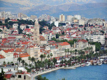 Etape en Croatie: Split