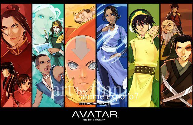 """136 Me gusta, 7 comentarios - ☉ (@tahnosbitch) en Instagram: """"... Avatar : the Last Airbender♡ It made our childhood perfect ~♡~ [Amazin artwork by finni on…"""""""