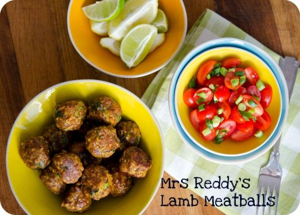 spicy lamb meatballs image | Beef and Lamb | Pinterest