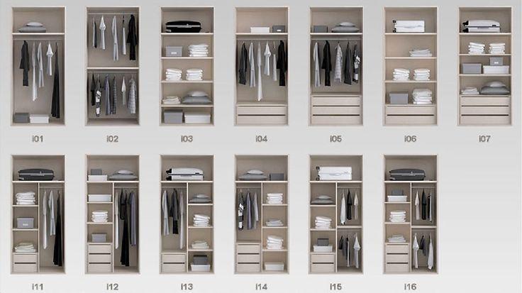 organizacion de armarios empotrados - Buscar con Google