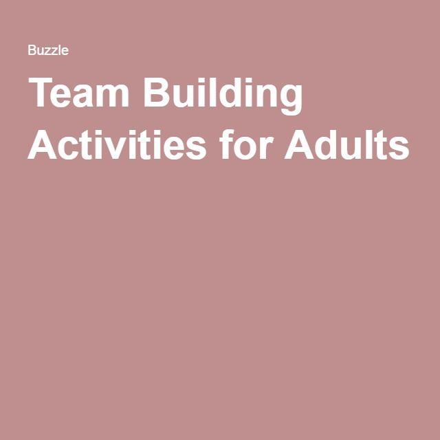 Best 25 group activities for adults ideas on pinterest for Fun ideas for adults