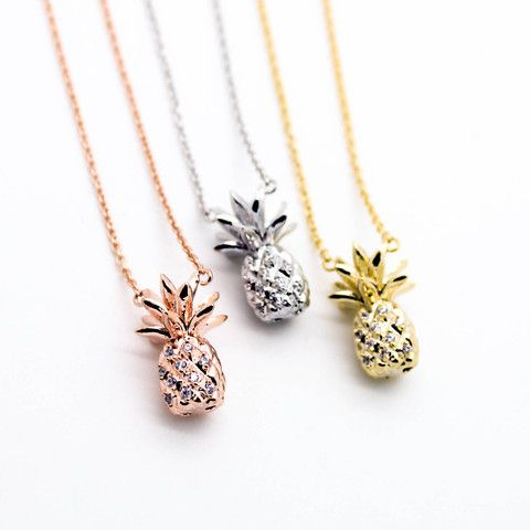 Pineapple stone necklace – Imsmistyle.