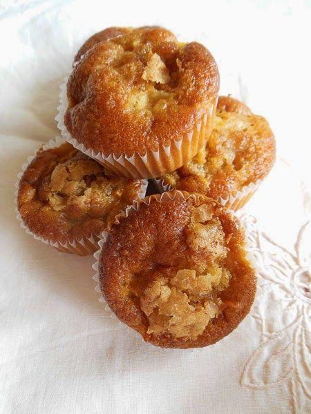 Muffin muscovado e mele