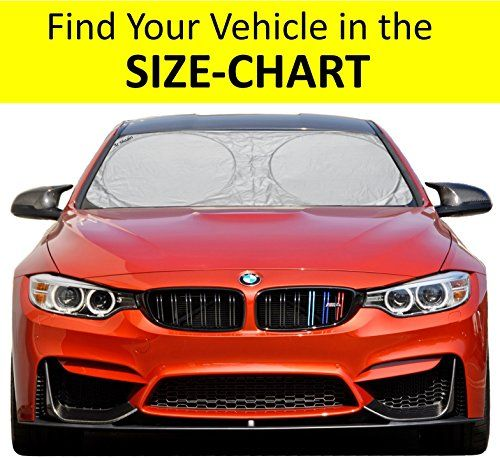 A1 Shades Windshield Sun Shades Exact Fit Size Chart For Car Suv